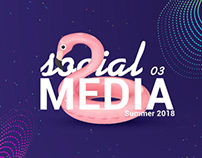 Social media collection Vol 3 - Summer 2018