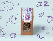 Nipper & Co teas — Brand identity & Packaging