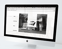 Erie Art Museum Website Redesign concept