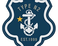 Nautica Patches and Graphic Appliqués
