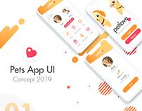 Petlove - Pets App Mobile UI