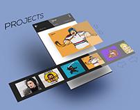 Self-Branding App (30 days axure challenge)