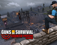 Guns for Survival Counter Shooting Game