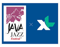 XL Booth Exhibition Concept @ Java Jazz Festival 2017