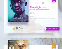 Movies 2017 Imdb nominations - UI design