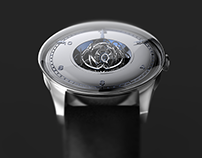 3 axes tourbillon watch