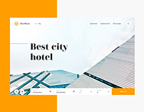 Website for Ost-West Hotel