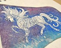 Calendar Ukrainean horses