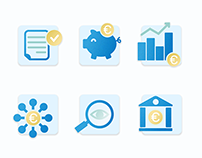 Set of icons for Medirect