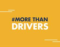 #MoreThanDrivers