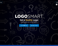Website Concept of Logo Smart