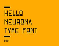 Neurona Free Type Font