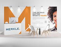 Merkle 2019 Tradeshow Booth Concepts