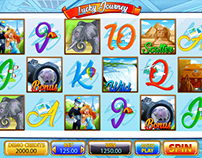 """Online slot machine for SALE - """"Lucky Journey"""""""