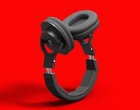 Headphone Render - Rhino & Keyshot