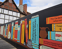 Shakespeare's Birthplace Trust - New Place Hoardings