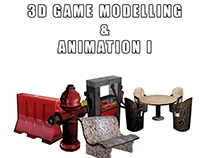 3D Game Modelling & Animation I