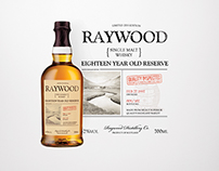 Raywood Whisky Label