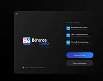 Behance Studio — Branding & macOS UI/UX Design