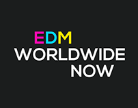 EDM Worldwide Now -Logo for client
