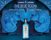 Bombay Sapphire & Book Slam London Project