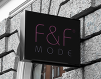 F&F MODE RETAIL BRANDING