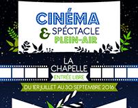 Ciné & spectacle plein-air
