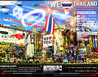 WE Love Thailand & We love our King 2014 [ 3D ]