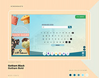SM Supermalls Digital Mall Directory UI