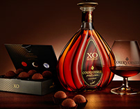 Courvoisier / Product photography
