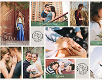 Site portfolio for Love Stories Photographer