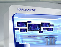 Parliament. Concept interior and Shop in Shop