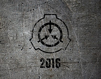 Art for SCP Foundation calendar 2016