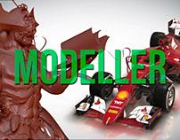 3D Modelling Reel