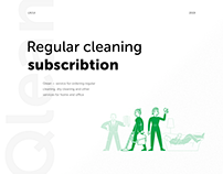Qlean: regular cleaning subscription