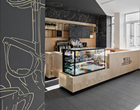 Coffee Bar PROFESORIUS, VDU in Kaunas, Lithunia. 2015