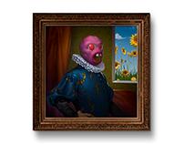 Cherry bomb portrait