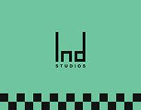 """Ind Studio"" Brand Identity"
