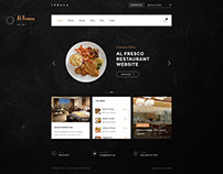 Al Fresco – An eCommerce Restaurant HTML Template