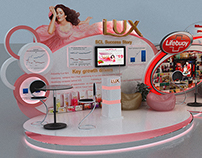 Lifebuoy & Lux Booth