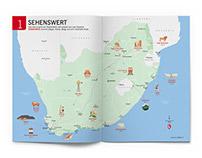 Illustrated maps for MERIAN magazine.