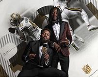 LE 2017 New Orleans Saints posters