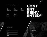 Video Production Company Landing Page