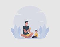 Father Illustration 02