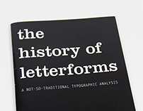"""""""The History of Letterforms"""" Book"""