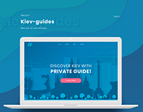"""Project for the tour agency """"Kiev-Guides"""""""