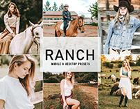 Free Ranch Mobile & Desktop Lightroom Presets
