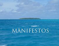 Various Clients   Manifestos or 'Brand Poetry'