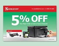 QuikShip Toners - Marketing Material (Print)