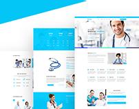 Freebie Medical webdesign concept